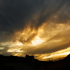 The sky of Seoul
