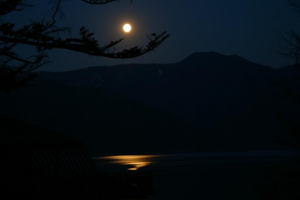 月がきれいだな