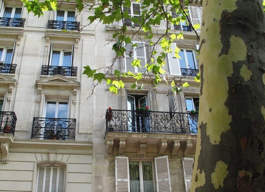 パリの青空