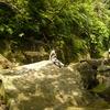 岩の上で一休み