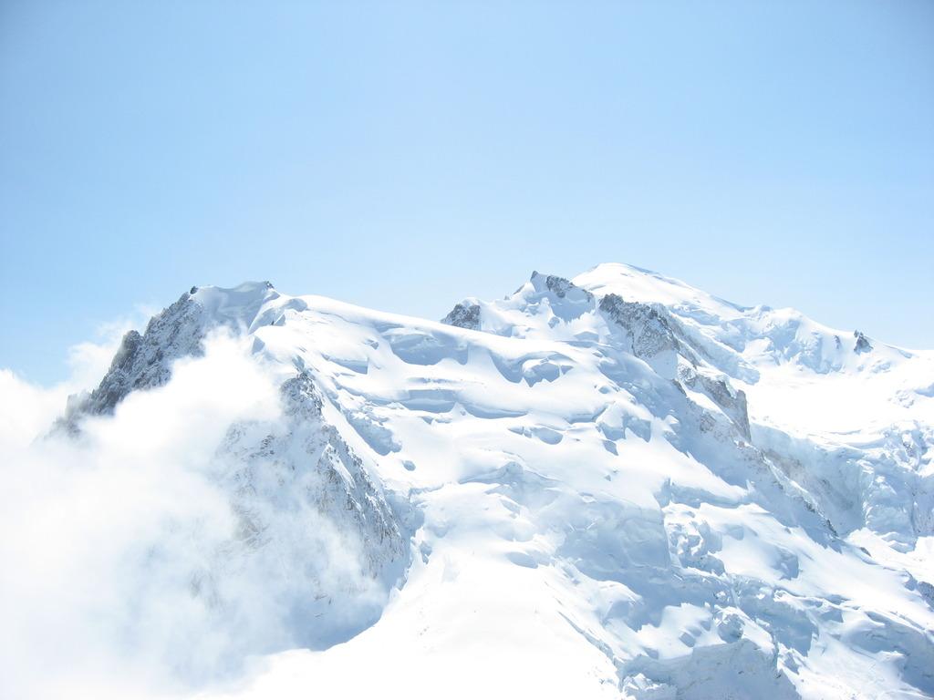 モンブラン山頂