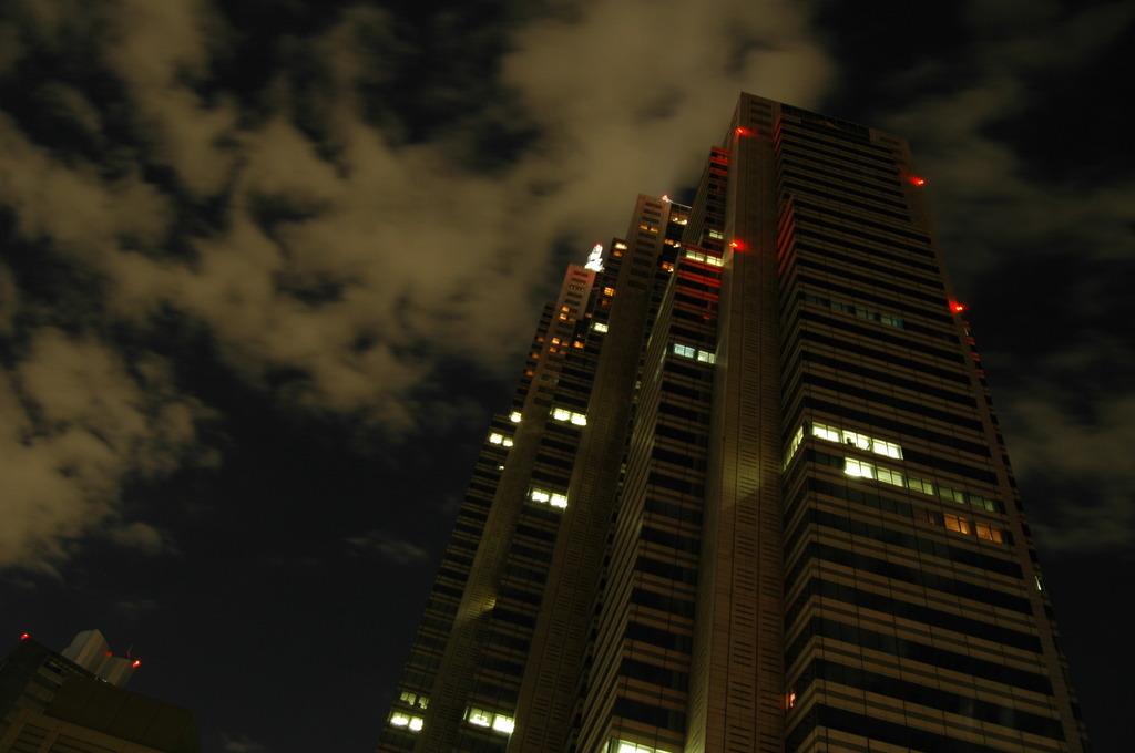 夜空とパークハイアット