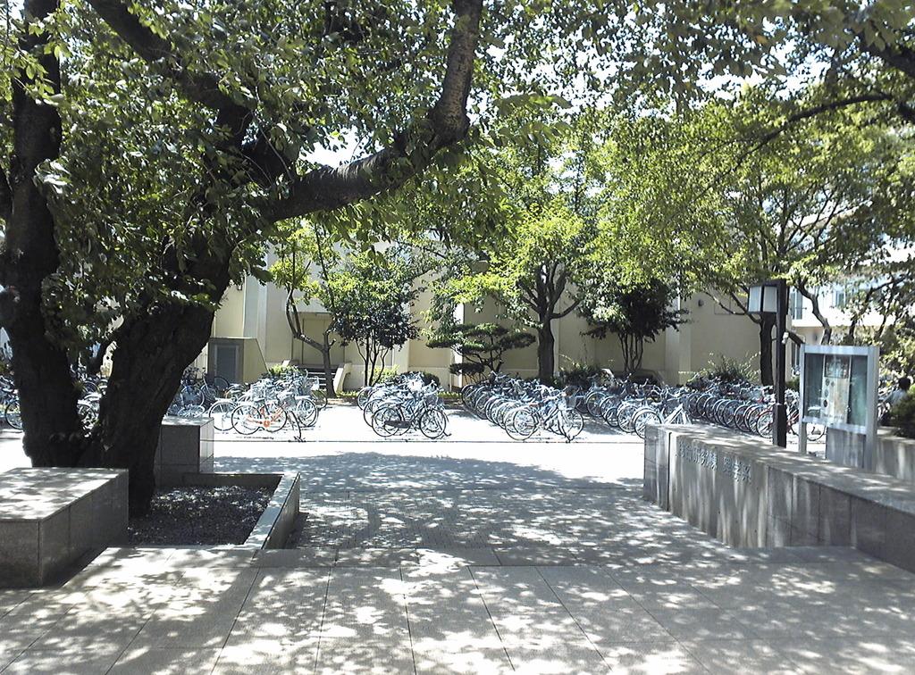 駐輪場--学校#0