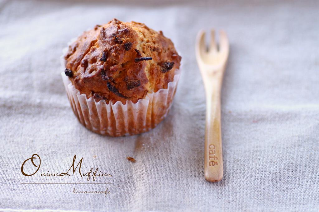 handmade onion muffins!