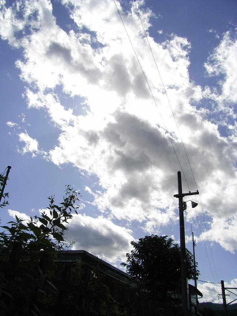 雲の向こう