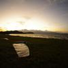 秋の琵琶湖です。