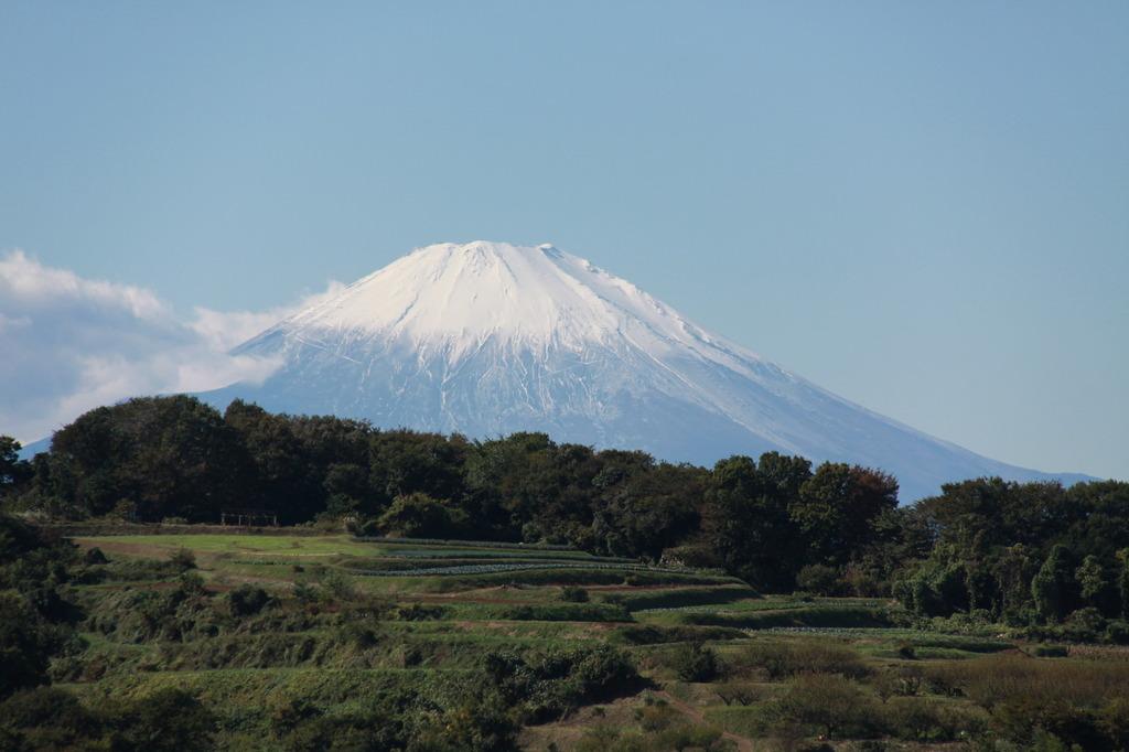 日向ヶ丘からの富士山