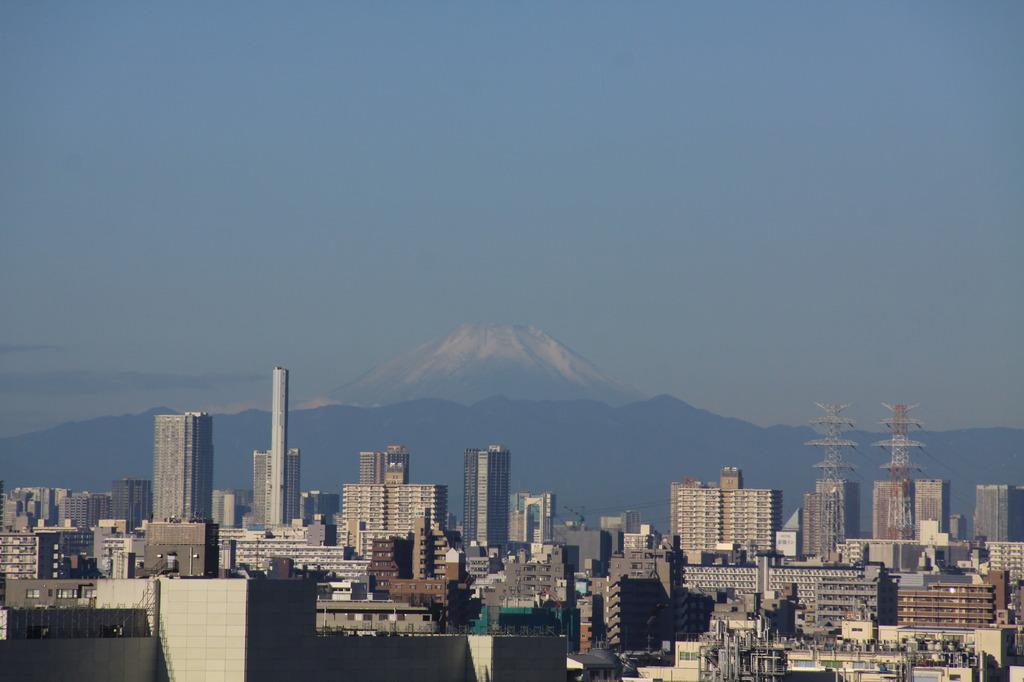 千葉からの富士山