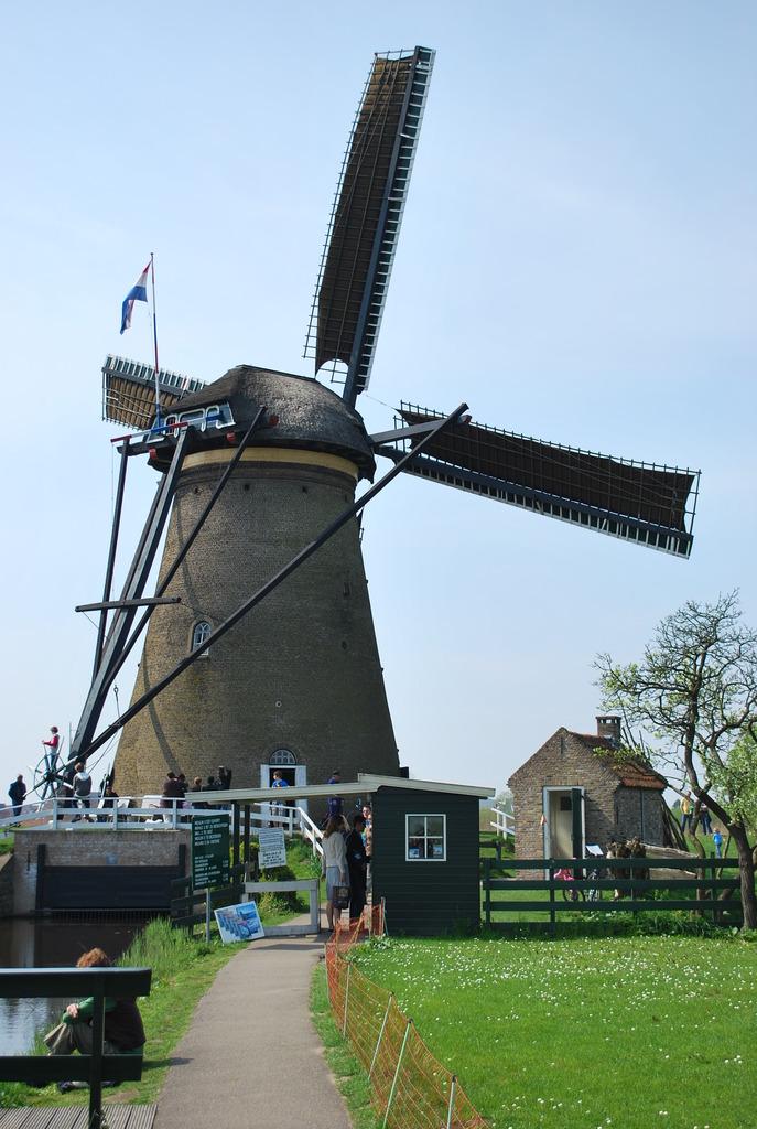 キンデルダイクの風車