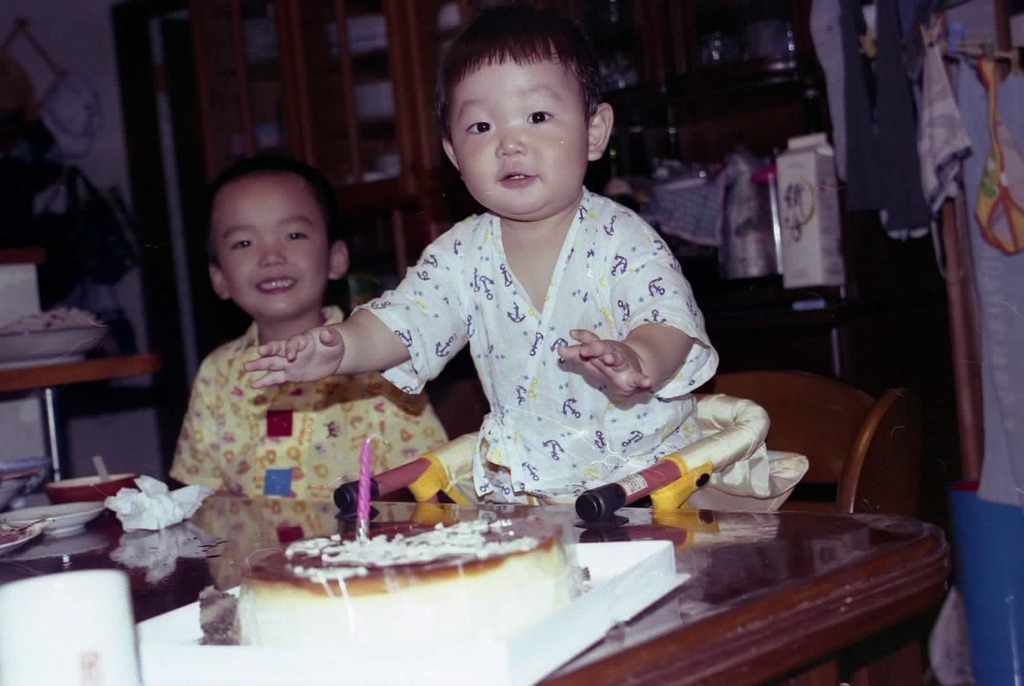 1才の誕生日