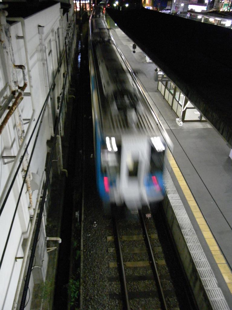 電車出発!