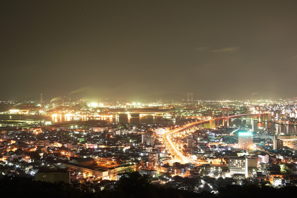夜景@高塔山