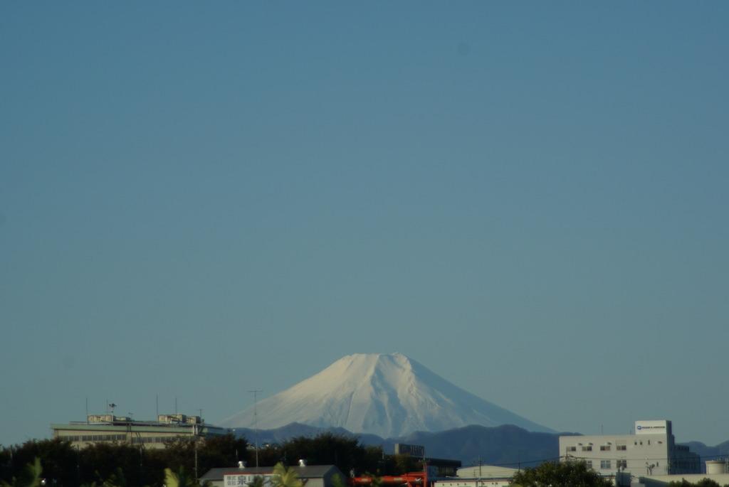 富士山 ~快晴の朝~