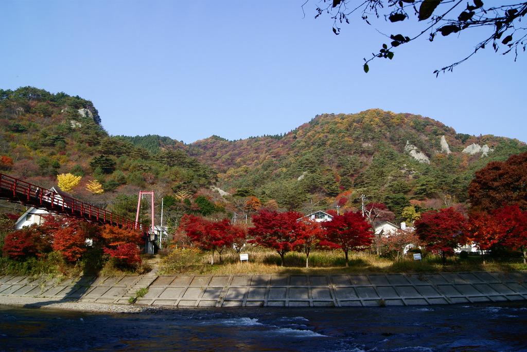 錦秋の矢祭山
