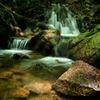 初夏の夢想滝渓谷