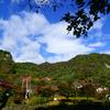 台風一過の秋の矢祭山