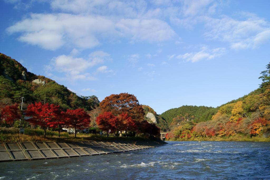 奥久慈渓谷の紅葉