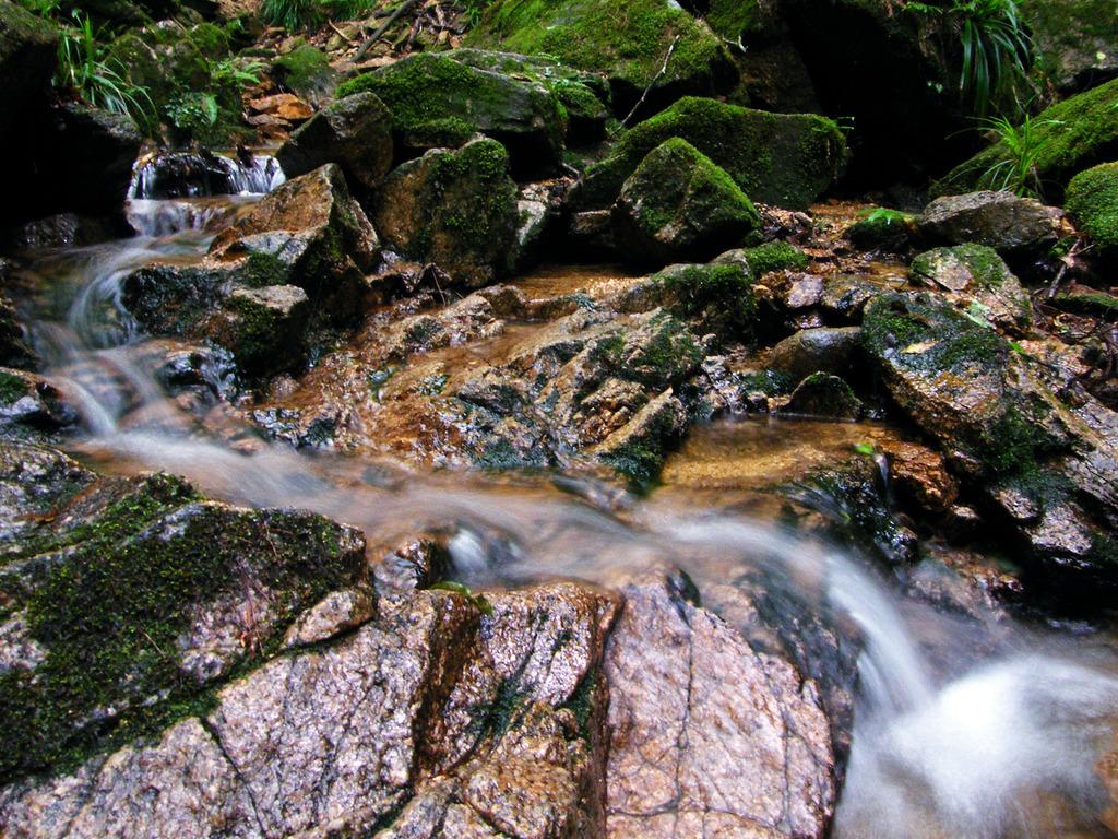 夢想滝川の流れ