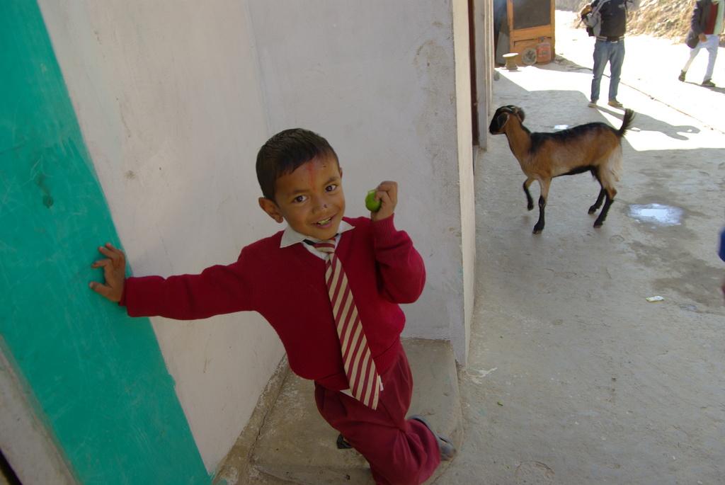 サリヤンの子供1 ネパール 2008-12