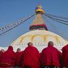 ボダナートの僧 ネパール 2009-1