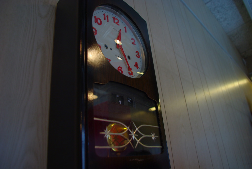 振り子時計