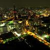 横浜の夜景 @ Royal Park Hotel