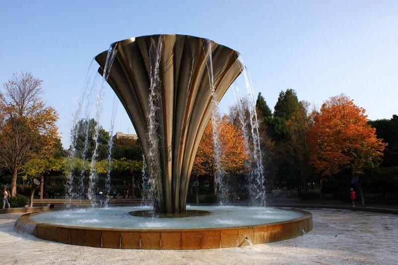 赤塚公園の噴水
