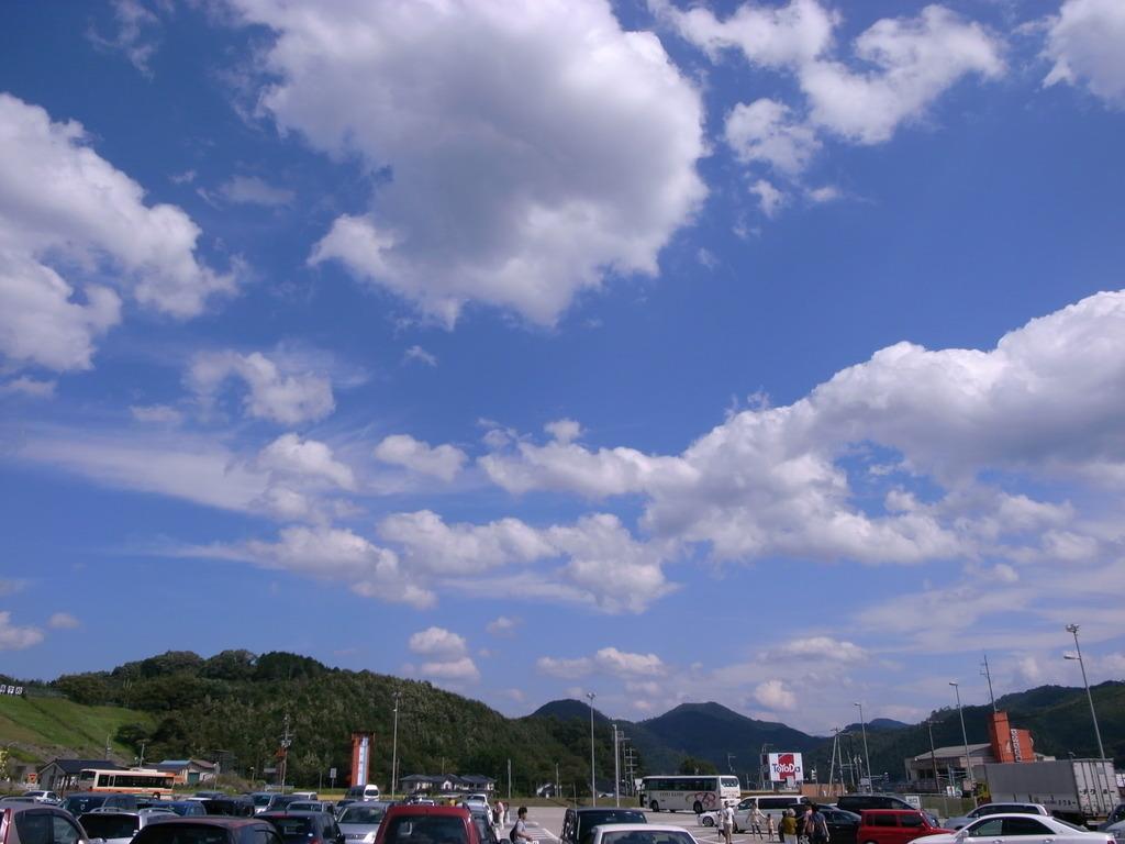 立体的な雲