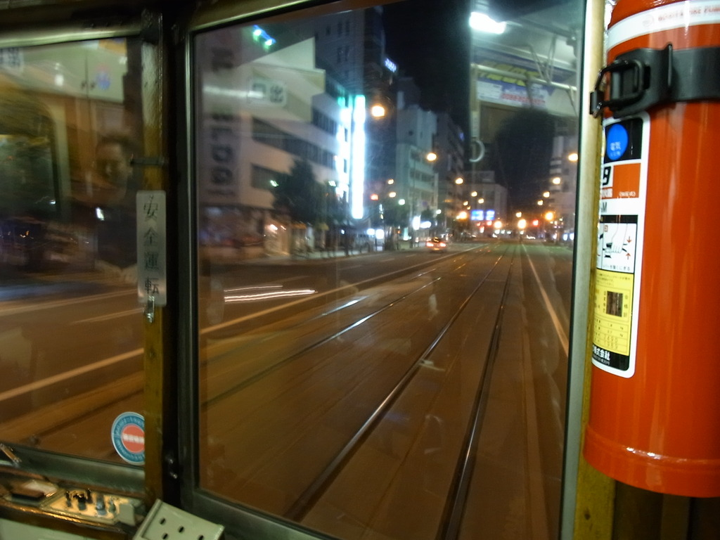 伊予鉄市内線 車両から①