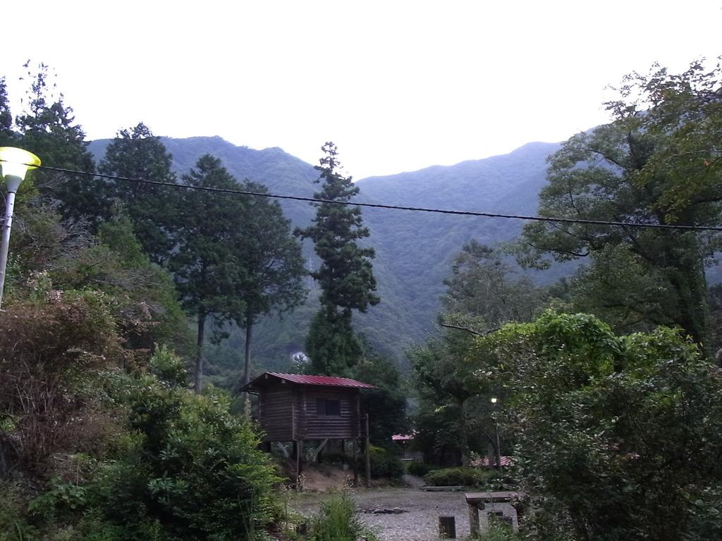祖谷渓キャンプ場の朝①