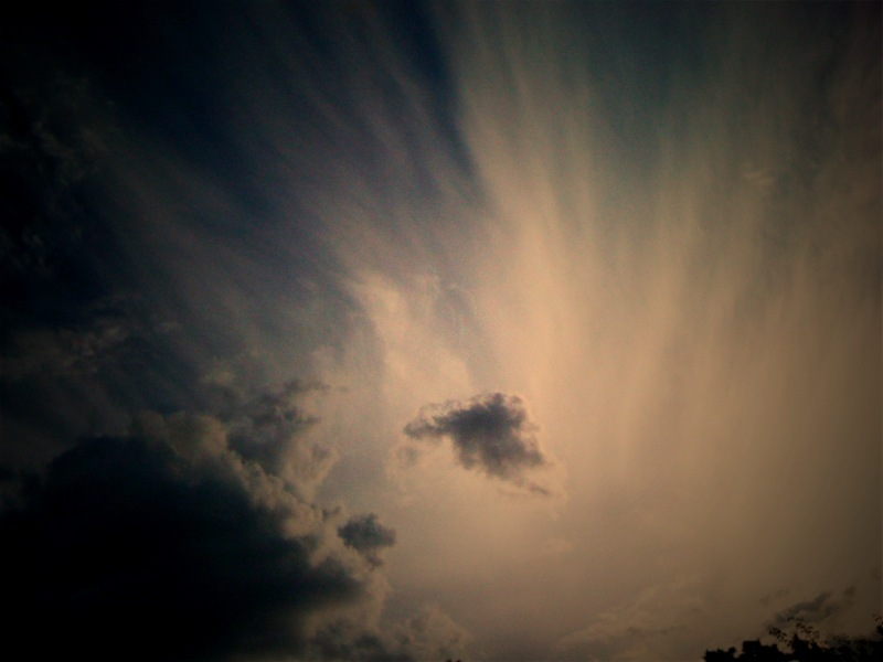 この空・・雲
