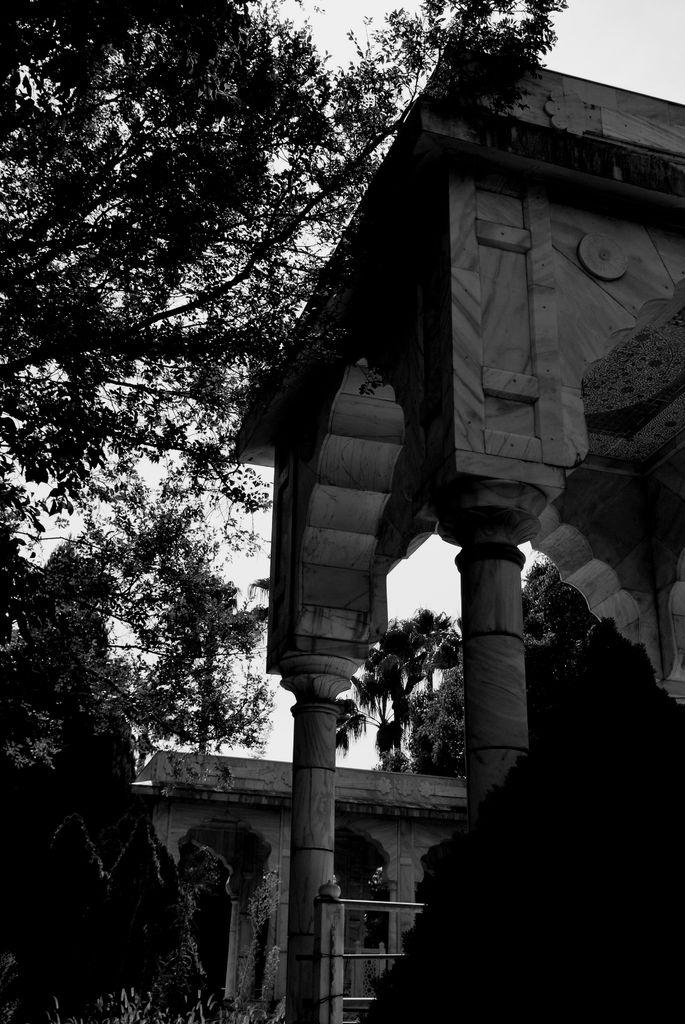 老朽化する宮殿の片隅
