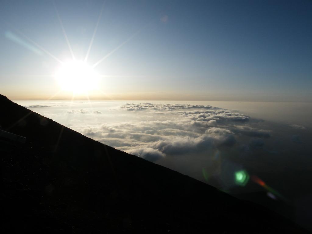 富士山 御来光2