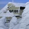 山頂駅も樹氷