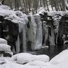 凍りつく銚子大滝