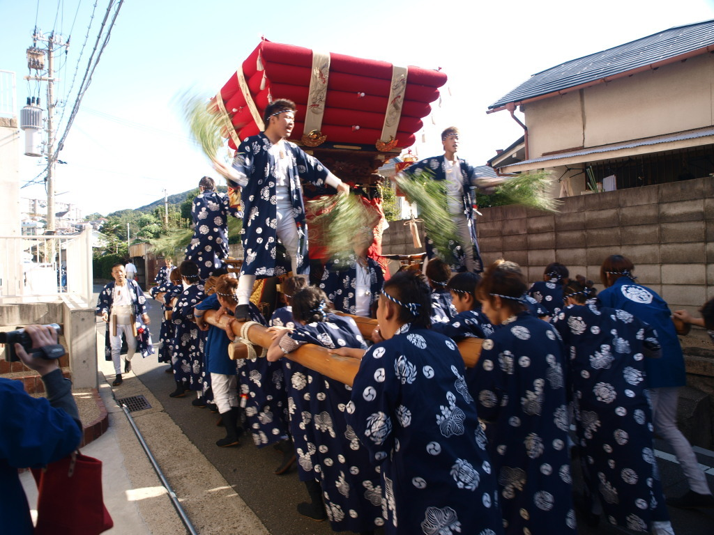 海神社秋祭り  塩屋(神戸市垂水区塩屋)