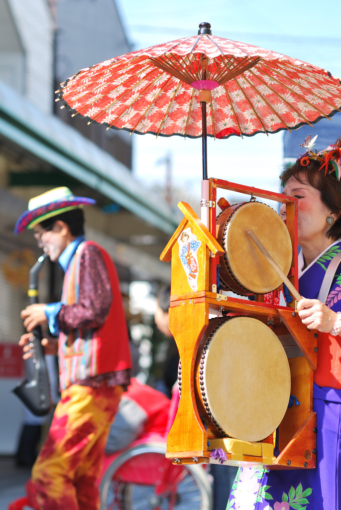 Colorful Performers