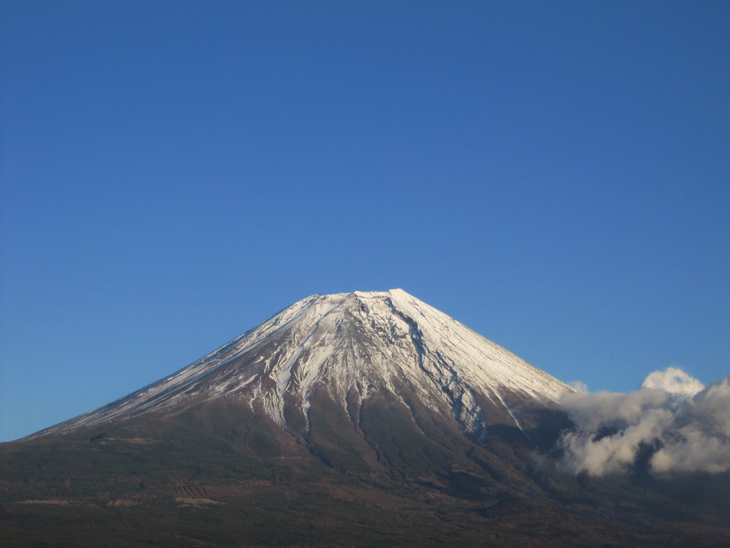 富士山 朝霧付近より その2