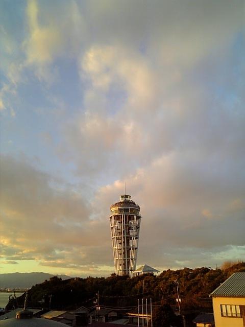 まだ展望台・これから灯台