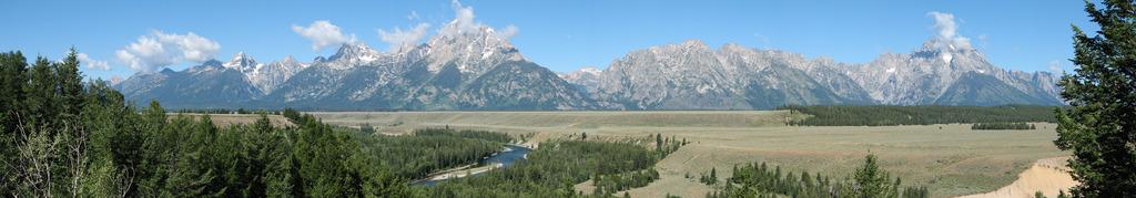 グランドティトン国立公園