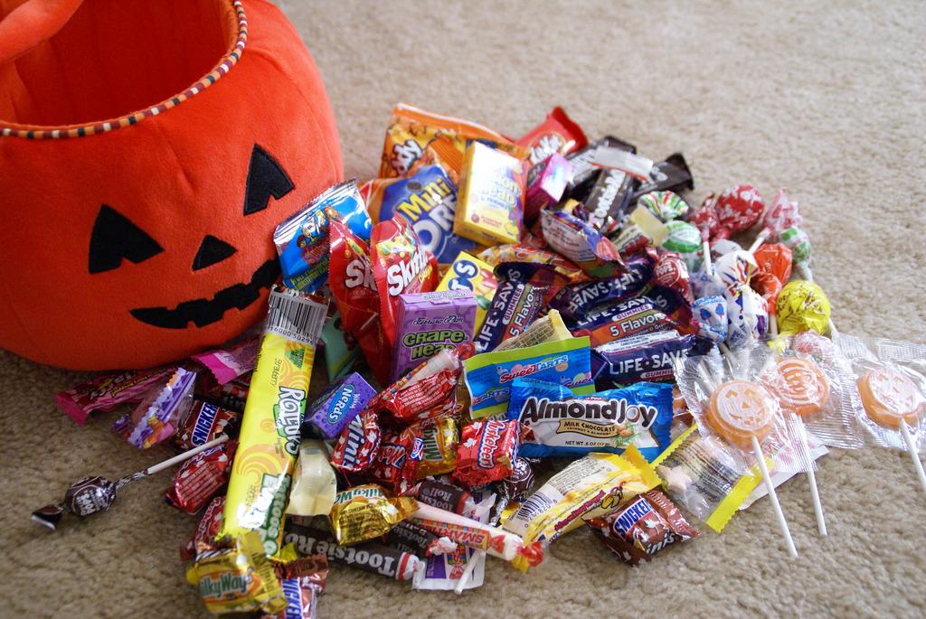 キャンディもらったよ