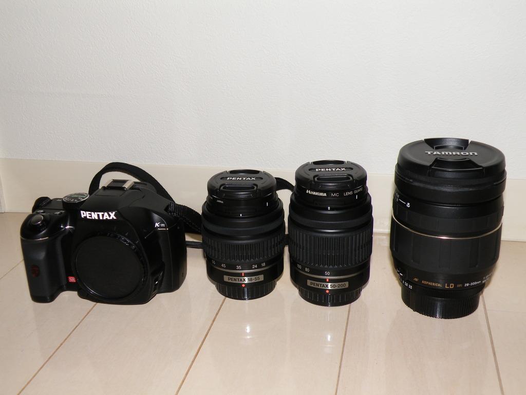 K-m Wズームキット+AF28-300mm