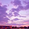 バンコクの夕焼