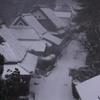 吹雪く鳥居本