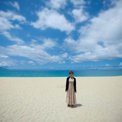 CANON Canon EOS 5D Mark IIで撮影した人物(屋久島・いなか浜にて)の写真(画像)