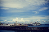 港の昼下がり