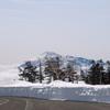 雪の回廊と岩手山