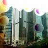 ガラス越しの香港