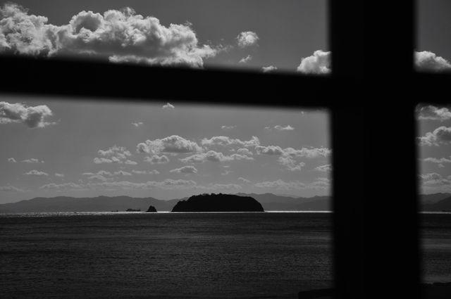 窓から眺めた風景