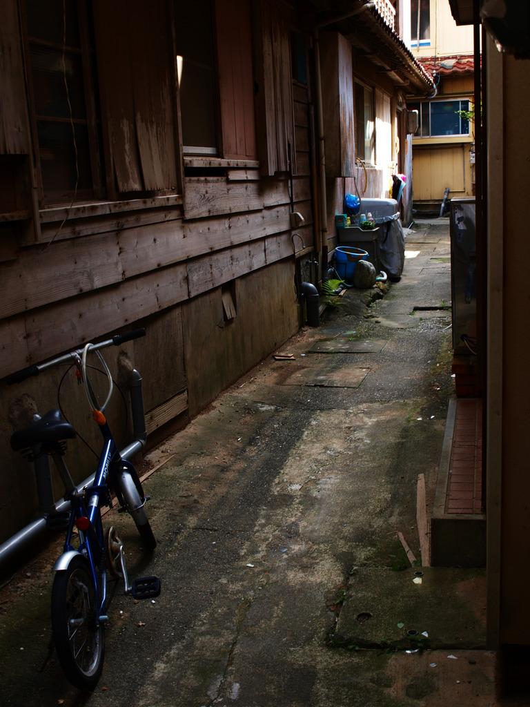 神島の路地裏